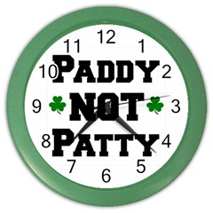 Paddynotpatty Wall Clock (color)