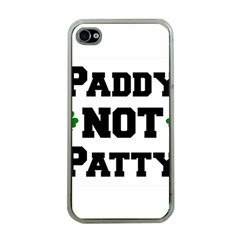 Paddynotpatty Apple Iphone 4 Case (clear)