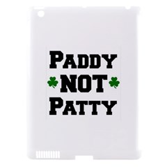Paddynotpatty Apple iPad 3/4 Hardshell Case (Compatible with Smart Cover)