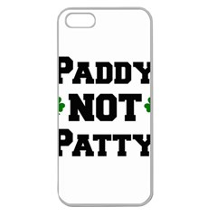 Paddynotpatty Apple Seamless iPhone 5 Case (Clear)