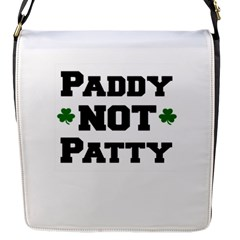 Paddynotpatty Flap Closure Messenger Bag (Small)