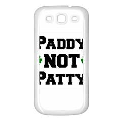 Paddynotpatty Samsung Galaxy S3 Back Case (White)