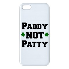 Paddynotpatty iPhone 5S Premium Hardshell Case