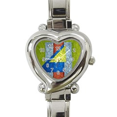 Abstract Heart Italian Charm Watch