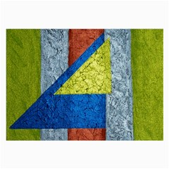 Abstract Glasses Cloth (Large, Two Sided)