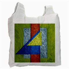 Abstract Recycle Bag (One Side)