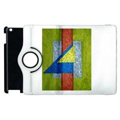 Abstract Apple iPad 2 Flip 360 Case