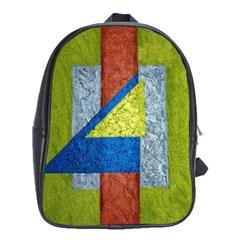 Abstract School Bag (xl)
