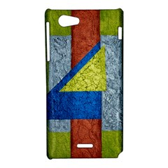 Abstract Sony Xperia J Hardshell Case