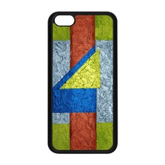 Abstract Apple iPhone 5C Seamless Case (Black)