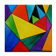 Abstract Ceramic Tile