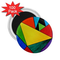 Abstract 2.25  Button Magnet (100 pack)