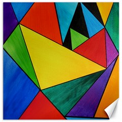 Abstract Canvas 12  X 12  (unframed)