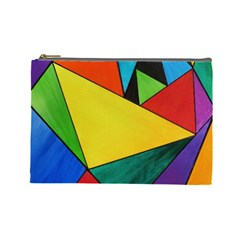Abstract Cosmetic Bag (Large)