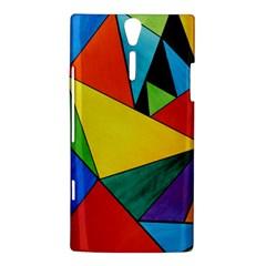 Abstract Sony Xperia S Hardshell Case