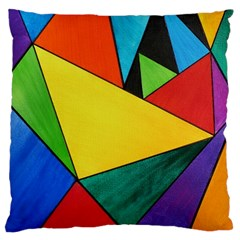 Abstract Large Cushion Case (Single Sided)