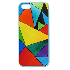 Abstract Apple Seamless iPhone 5 Case (Color)