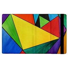 Abstract Apple iPad 3/4 Flip Case