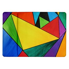 Abstract Samsung Galaxy Tab 10.1  P7500 Flip Case