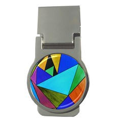 Abstract Money Clip (Round)