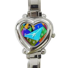 Abstract Heart Italian Charm Watch