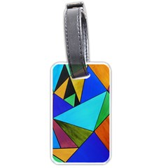 Abstract Luggage Tag (Two Sides)