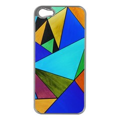 Abstract Apple Iphone 5 Case (silver)