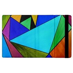Abstract Apple iPad 2 Flip Case