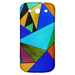 Abstract Samsung Galaxy S3 S Iii Classic Hardshell Back Case