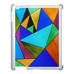 Abstract Apple Ipad 3/4 Case (white)