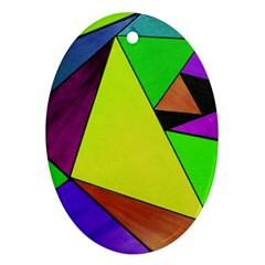Abstract Oval Ornament