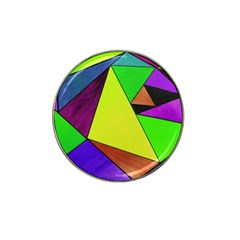 Abstract Golf Ball Marker (for Hat Clip)