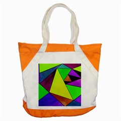 Abstract Accent Tote Bag