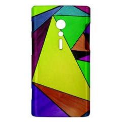 Abstract Sony Xperia ion Hardshell Case
