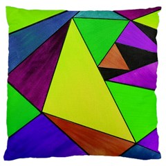 Abstract Large Cushion Case (Two Sided)