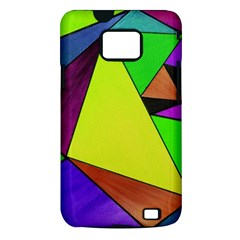 Abstract Samsung Galaxy S II i9100 Hardshell Case (PC+Silicone)