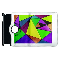 Abstract Apple Ipad 2 Flip 360 Case
