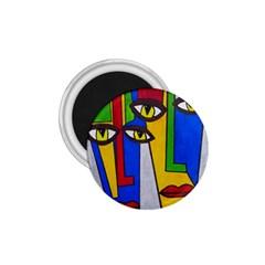 Face 1.75  Button Magnet