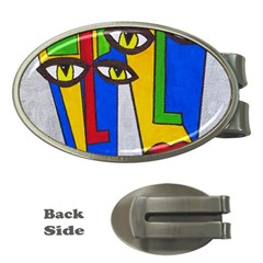 Face Money Clip (Oval)