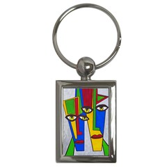 Face Key Chain (Rectangle)
