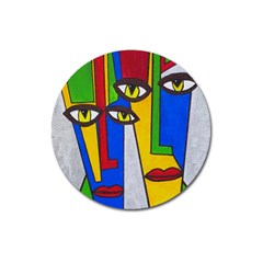 Face Magnet 3  (Round)