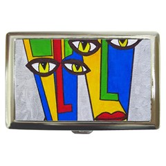 Face Cigarette Money Case