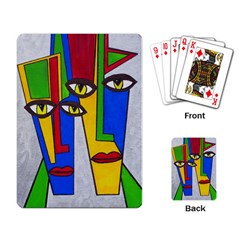 Face Playing Cards Single Design