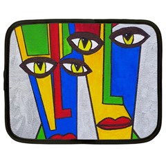 Face Netbook Sleeve (Large)