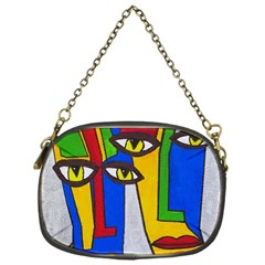 Face Chain Purse (one Side)