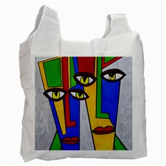 Face Recycle Bag (two Sides)