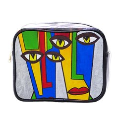 Face Mini Travel Toiletry Bag (One Side)