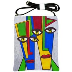 Face Shoulder Sling Bag