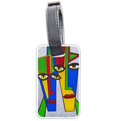 Face Luggage Tag (One Side)
