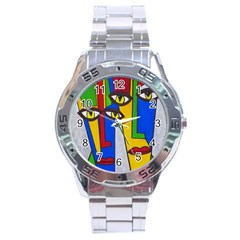 Face Stainless Steel Watch